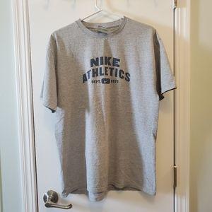 BOGO Men Nike Athletics Dep. 1971 Med Grey T-Shirt